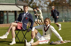 Vintage Sports Fashions - The Rugby Ralph Lauren Spring 2010 Collection is Stylishly Preppy