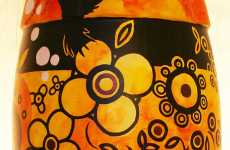 Aboriginal Art Bottles