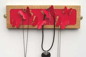 The Butterfly Jewelry Hanger Will Fly Away With Your Baubles