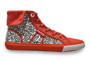 Keith Haring Limited-Edition Footwear from Tommy Hilfiger