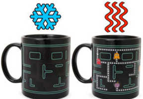 Heat-Sensitive Coffee Cups Display Pacman When Heated