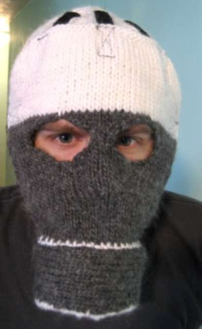 Knitted Gas Masks