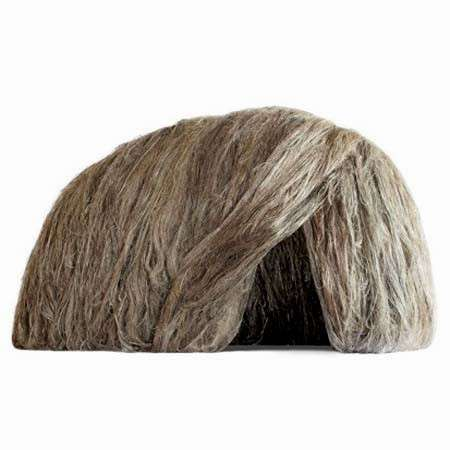 Super-Sized Hair Huts - European Linen and Hemp Confederation Pair With Francois Azambourg