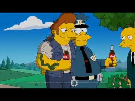Simpsons Super Bowl Ads