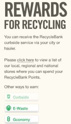 Cash for Curbside Trash