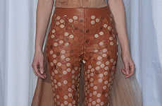 Laser Cut Leather Pants - Maison Martin Margiela Haute Couture Spring/Summer