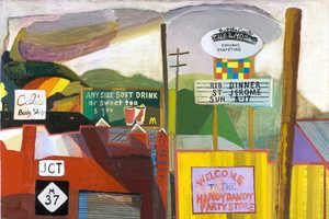 Karla Wozniak Paintings are a Brand New Take on Americana