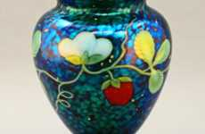 Nostalgic Glasswork - Traditional Techniques Applied to Modern Art Glass Forms