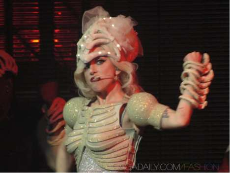 Charitable Corsets - Lady Gaga Auctions Costume for Haiti