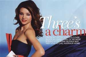 Miranda Kerr Covers Madison Australia March 2010