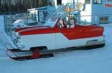 Retro Ski Cars