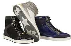 Luxury High-Tops - $625 Jimmy Choo Sneakers to Launch in May