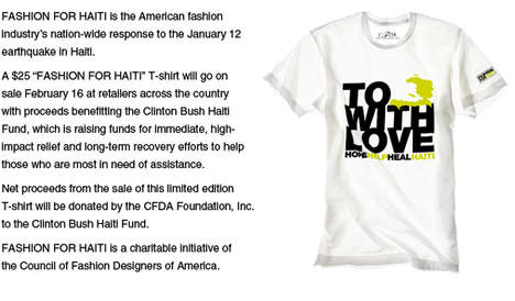 T-Shirts for Haiti