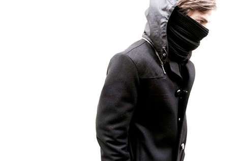 Ninja Style Scarves - The Martyn Bal AW10 Collection Has an Air of Mystery and Danger