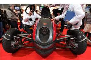The Tajima EV Mini Sport is an Electric Formula 1 Concept Car