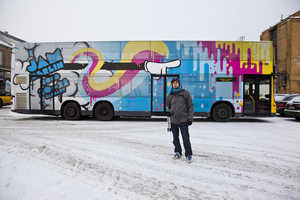 The Maxime Archambault Jam Berlin Bus is Like Acid on Wheels