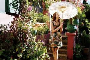 Jill by Jill Stuart Spring 2010 Campaign is Garden Party Ready