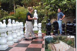 Chess Pieces Fit for an Alice in Wonderland Game Experience