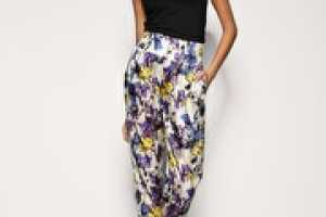 Floral Trousers and Leggings for Spring/Summer