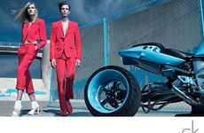 Red Biker Suits