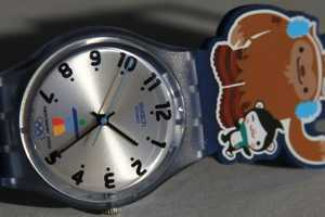 The Swatch 2010 Vancouver Olympics Watches Have Cartoon Mascots