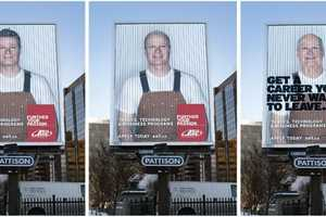 'Get a Career You'll Never Want to Leave' Outdoor Ad Campaign