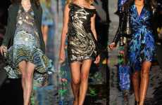 Gypsy Glam Couture - The Diane Von Furstenberg Fall Line is Darkly Glamorous