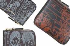 Doodler Wallets - New Comme Des Garcons Wallet is Perfect for Frugal Scribblers