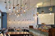 Hanging Book Lights - McNally Jackson Books Has Reader-Friendly Light Fixtures