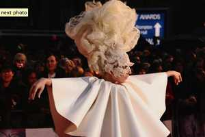 Everyone is Puzzled by Lady Gaga at the Brit Awards