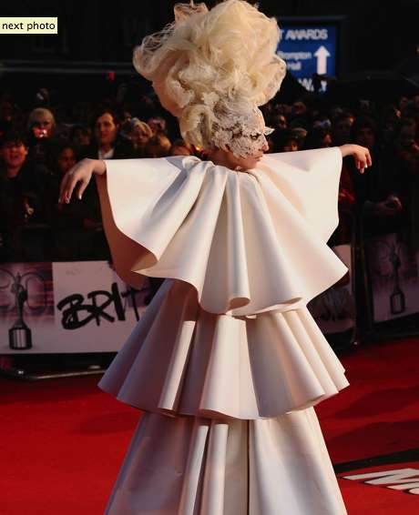 Lady Gaga at The Brit Awards