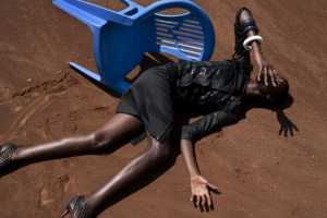 The Viviane Sassen's 'Terre De Sienne' Shoot