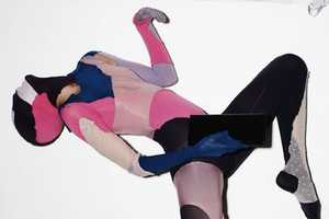 Irina Lazareanu Works it Incognito in 'Play' for QVEST #49