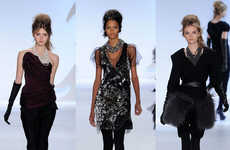 Sophisticated Socialite Styles - The Vera Wang Fall Collection Inspired by Film Noir