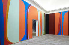 Malene Landgreen's Six-Room 'Color State' Art Display