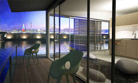Floating Eco-Homes - The Magma Design LoftFloat Will Stay Above the Sinking Real Estate Market