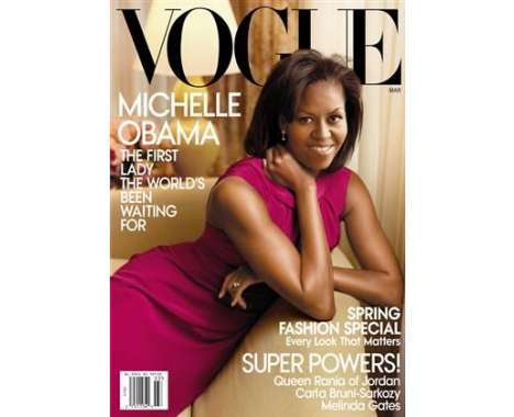 michelle obama features