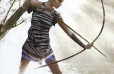 Alpha-Female Fashiontography - Daria Werbowy Takes on Nature in 'The Warrior Way'