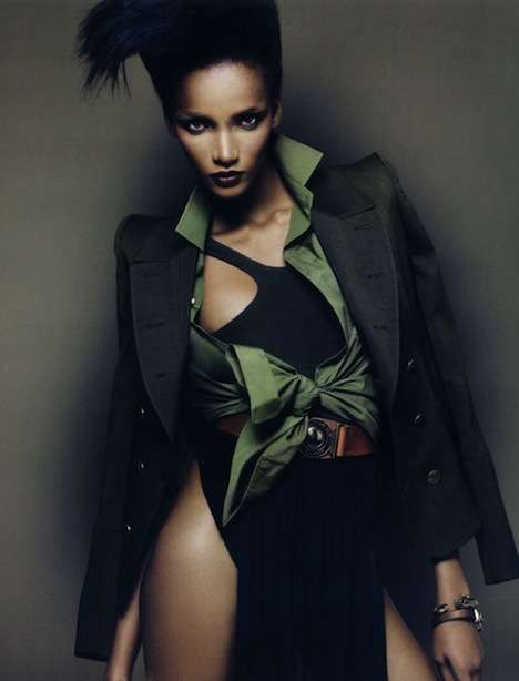 March Vogue Paris 2010