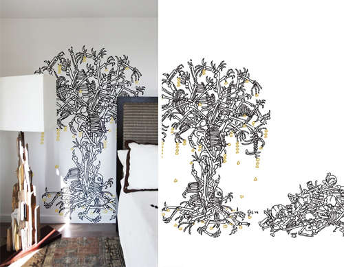 Morbidly Romantic Wall Decals