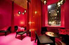 Whimsical Pinktastic Interiors - Cafe Foam is a Romantic Oasis Designed by Note Design Studio