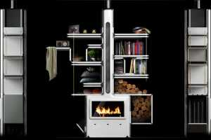 The Vulcan Stove by Arthur Senant Cooks and Organizes