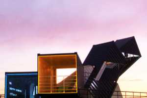OceanScope Observatory is Made of Recycled Shipping Containers
