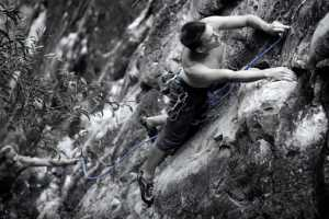 'Climbing Rocks' by Zenstick Photography Focuses on Extreme Sports