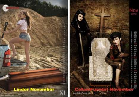 Corseted Casket Calendars