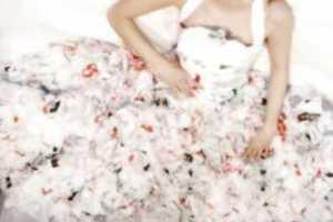 The Plastic Bag Wedding Dress by Amorphose