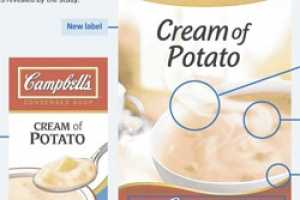 The Consumer-Oriented Packaging for Campbell's Cream of Potato Soup
