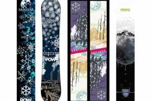 Venture POW Snowboards Give Back to Winter
