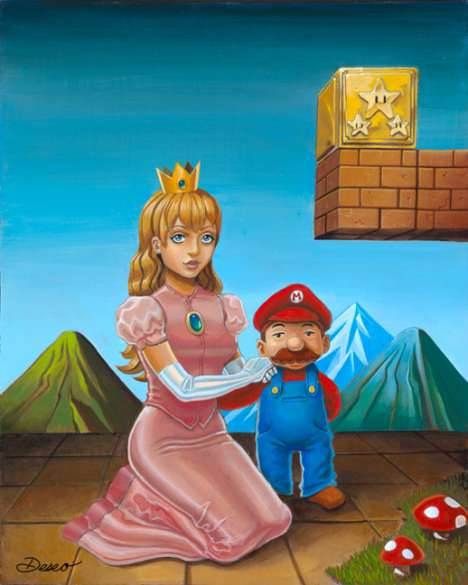 mario and the princess