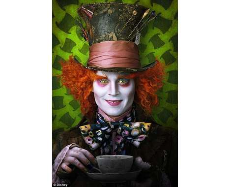 johnny depp portrayal mad hatter